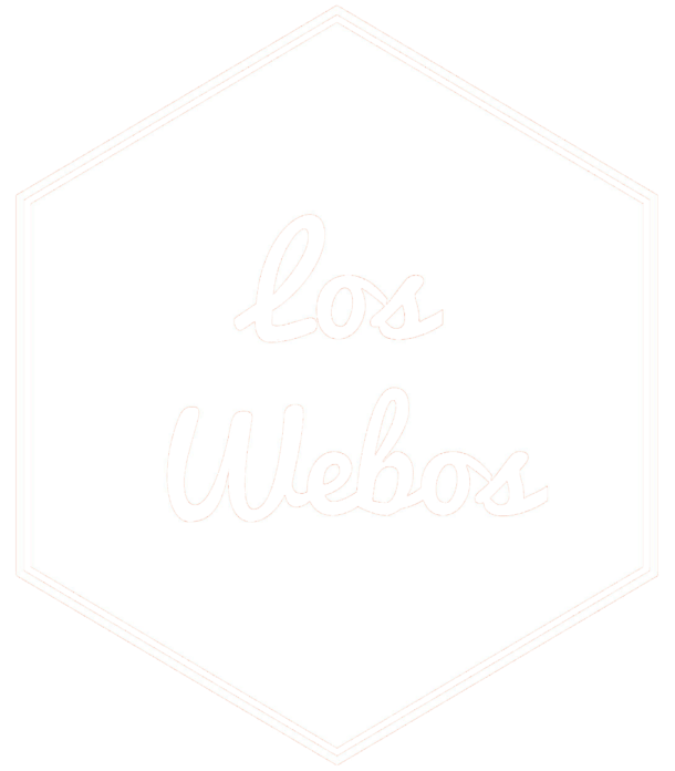Los Webos Badge - White Transparent