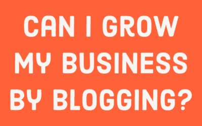 Blogging to build your business