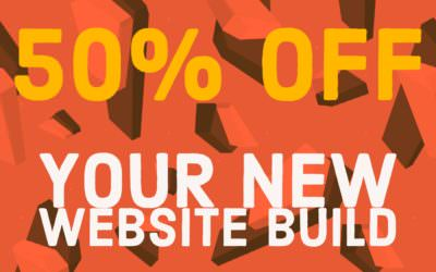 LOCO SALE – 50% off all website products until 31st October!