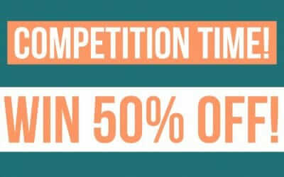 Win 50% Off in our New Year Competition!